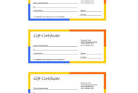 41 Free Gift Certificate Templates In Ms Word And In Pdf Format Pertaining To Free 24 Martial Arts Certificate Templates 2020