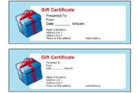 41 Free Gift Certificate Templates In Ms Word And In Pdf Format with regard to Unique Gift Certificate Template In Word 10 Designs
