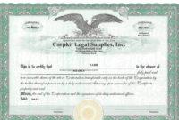 41 Free Stock Certificate Templates (Word, Pdf) – Free in Editable Stock Certificate Template