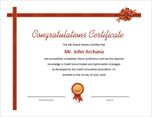 5 Beautiful Ms Word Certificate Templates | Office Templates Intended For Fresh Congratulations Certificate Template