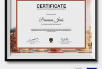 5 Chess Certificates – Psd & Word Designs   Design Trends intended for Chess Tournament Certificate Template Free 8 Ideas