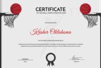5 Netball Certificates – Psd & Word Designs | Design Trends for Best Netball Achievement Certificate Template