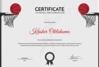 5 Netball Certificates – Psd & Word Designs | Design Trends with Netball Certificate Templates