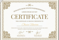 50 Multipurpose Certificate Templates And Award Designs For for Unique Chef Certificate Template Free Download 2020