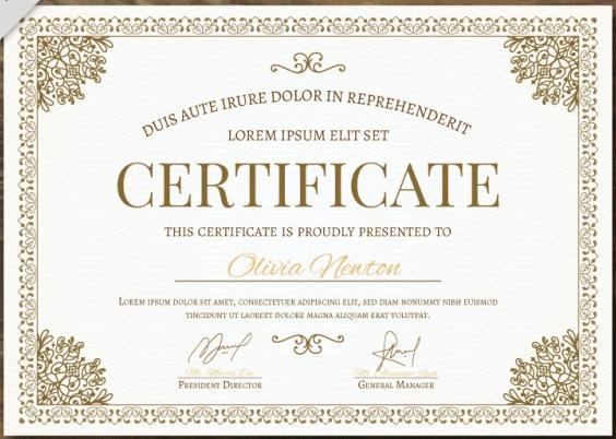 50 Multipurpose Certificate Templates And Award Designs For For Unique Chef Certificate Template Free Download 2020