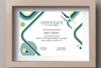 50 Multipurpose Certificate Templates And Award Designs For throughout Science Achievement Certificate Template Ideas