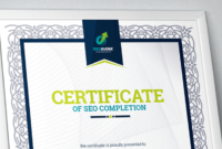 50 Multipurpose Certificate Templates And Award Designs For with Science Achievement Certificate Template Ideas