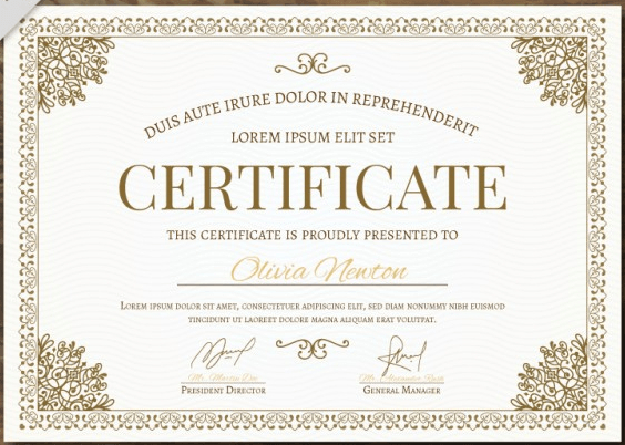 50 Multipurpose Certificate Templates And Award Designs For Within Cooking Competition Certificate Templates