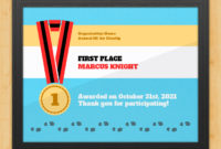 5K Certificate – Finish Lineaward Hut within Fresh 5K Race Certificate Templates