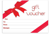 6 Free Gift Voucher Templates Excel Pdf Formats Word with Best Valentine Gift Certificates Free 7 Designs