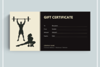 72+ Free Gift Certificate Templates – Word (Doc) | Pdf with Best Fitness Gift Certificate Template