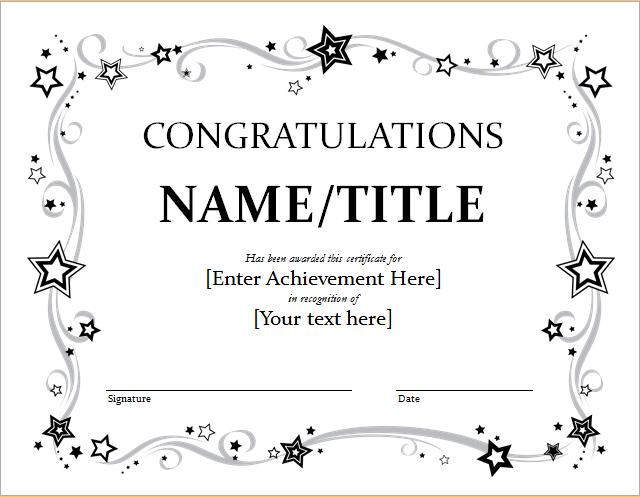 9+ Congratulation Certificate Templates | Free Printable Regarding 9 Worlds Best Mom Certificate Templates Free