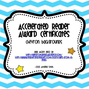A.r. Award Certificates: Ready To Use Printables | Award Inside Accelerated Reader Certificate Template Free