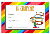 Accelerated Reader Certificate Template Free (Top 7+ Ideas for Star Reader Certificate Template