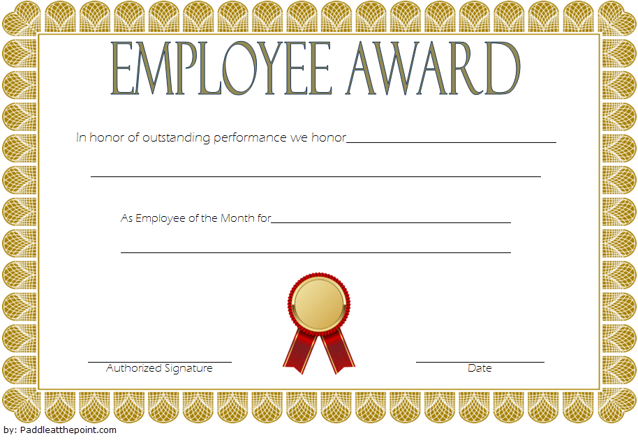 An Employee Of The Week Certificate Template Free 2   Awards For Best Certificate Of Job Promotion Template 7 Ideas