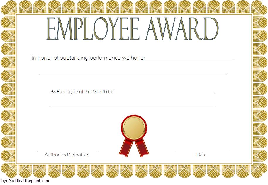 An Employee Of The Week Certificate Template Free 2   Awards In Best Employee Certificate Template