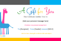 Animals-Sample-Gift-Certificate-Template regarding Zoo Gift Certificate Templates Free Download