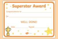 Award And Certificate Templates For Kids | Primary Resource with Good Behaviour Certificate Template 10 Kids Awards