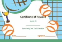 Award Certificate Templates | Soft – Templates inside Fresh Tennis Achievement Certificate Template