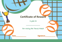 Award Certificate Templates | Soft – Templates inside Tennis Tournament Certificate Templates