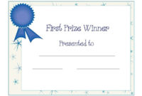Baby Shower Award Certificate | Certificate Templates in Unique Baby Shower Winner Certificates