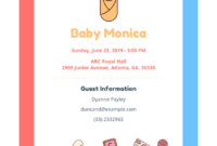 Baby Shower Invitation Template – Pdf Templates | Jotform regarding Baby Shower Gift Certificate Template Free 7 Ideas