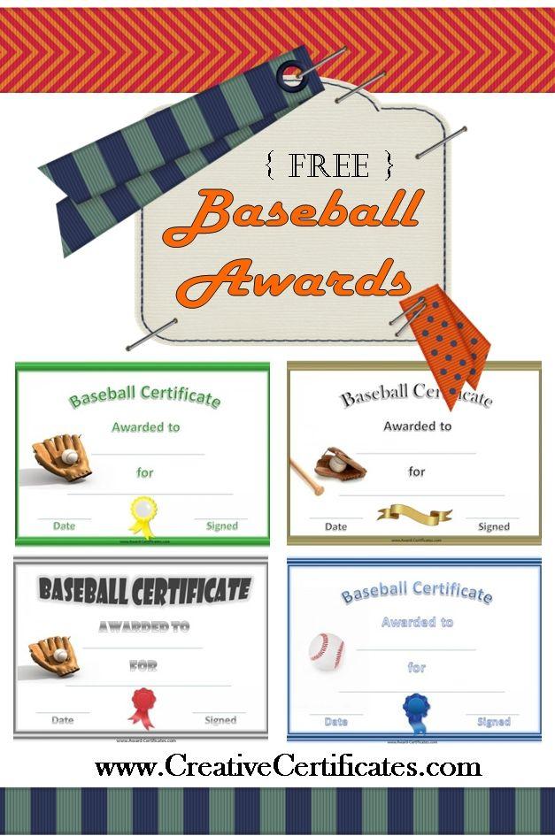 Baseball Awards   Baseball Award, Baseball Gifts, Team Mom Intended For Best Editable Baseball Award Certificates