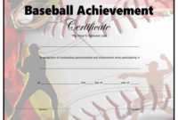 Baseball Certificate – Free Printable – Allfreeprintable pertaining to Baseball Award Certificate Template
