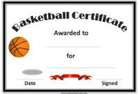 Basketball Certificates | Basketball Awards, Basketball pertaining to Basketball Certificate Templates