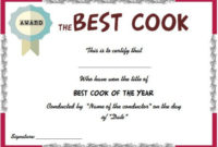 Best Cook Certificate | Certificate Templates, Certificate regarding Chef Certificate Template Free Download 2020