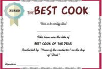Best Cook Certificate | Certificate Templates, Certificate regarding Cooking Contest Winner Certificate Templates