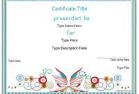 Blank Certificates – Design Certificate Template with regard to Physical Education Certificate 8 Template Designs