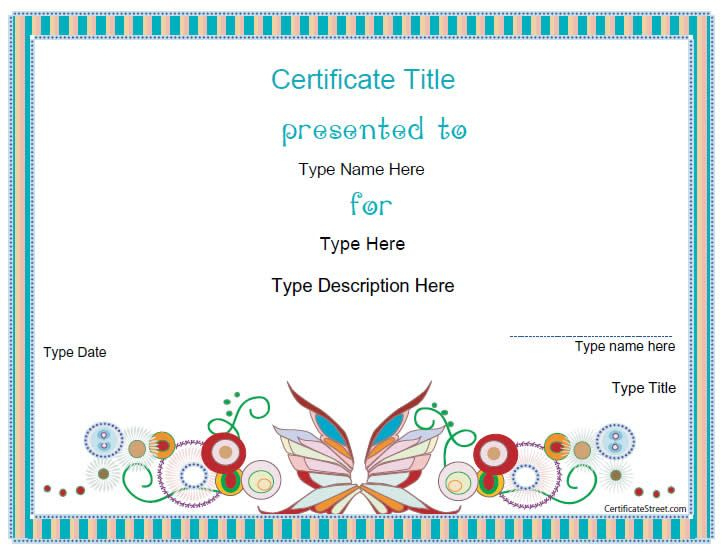 Blank Certificates - Design Certificate Template With Regard To Physical Education Certificate 8 Template Designs