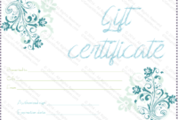 Blueezy Gift Certificate Template – For Word within Baby Shower Gift Certificate Template