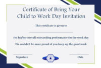 Bring Your Child To Work Day Archives – Page 2 Of 2 in Fresh Certificate For Take Your Child To Work Day