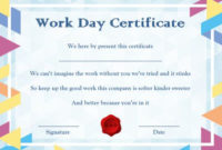 Bring Your Child To Work Day Archives – Template Sumo with regard to Certificate For Take Your Child To Work Day