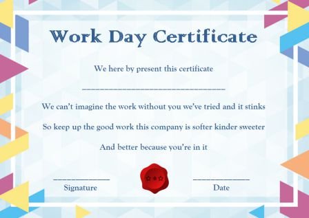 Bring Your Child To Work Day Archives - Template Sumo With Regard To Certificate For Take Your Child To Work Day