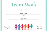 Business Certificate – Certificate For Good Teamwork pertaining to Free Teamwork Certificate Templates