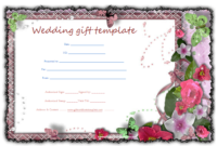 Butterfly-Gift-Certificate-Template | Gift Certificate inside Unique Free Editable Wedding Gift Certificate Template