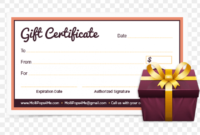 Candles And Cake Birthday Gift Certificate Template – Happy intended for Happy Birthday Gift Certificate