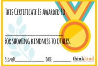 Caught Being Kind Certificate – Google Search | Reading throughout Certificate Of Kindness Template Editable Free