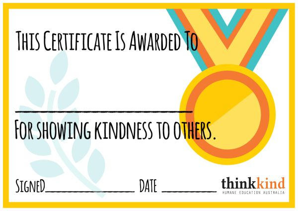 Caught Being Kind Certificate - Google Search   Reading Throughout Certificate Of Kindness Template Editable Free