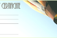 Certificate For Travel Agent Free 4 In 2020 | Gift within Travel Gift Certificate Templates