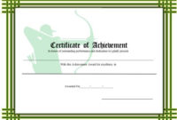 Certificate Of Achievement – Archery Printable Certificate for Blessing Certificate Template Free 7 New Concepts
