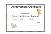 Certificate-Of-Achievement-Template-Prize-Download-Editable pertaining to Unique Science Achievement Certificate Template Ideas