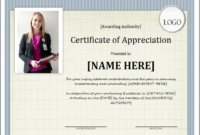 Certificate Of Appreciation Template For Word | Document Hub inside Unique Certificate Of Appreciation Template Word