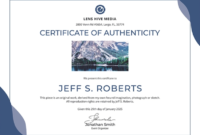 Certificate Of Authenticity: Templates, Design Tips, Fake With Regard To Free 24 Martial Arts Certificate Templates 2020