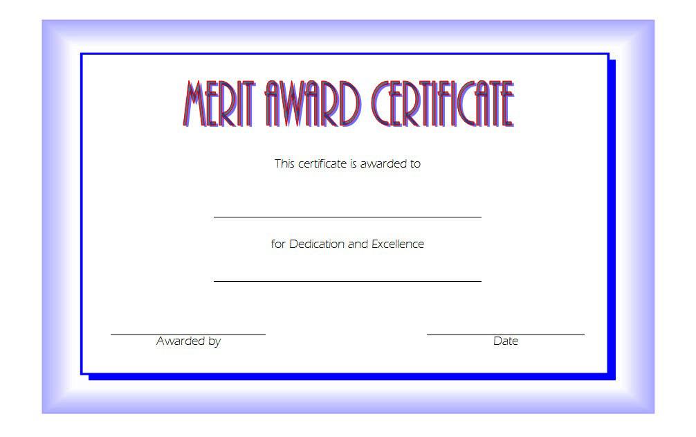 Certificate Of Merit Award Free Printable [10+ Prime Ideas] Intended For Merit Certificate Templates Free 10 Award Ideas