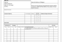 Certificate Of Origin Template For Ms Word | Word & Excel throughout Certificate Of Origin Template
