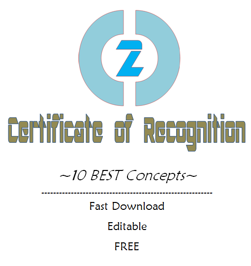 Certificate Of Recognition Template Word Free (10+ Concepts) Pertaining To Unique Certificate For Baking 7 Extraordinary Concepts